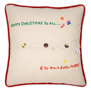 Catstudio Night Before Christmas Pillow