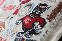 Load image into Gallery viewer, North Carolina State University, Catstudio Collegiate Embroidered Pillow