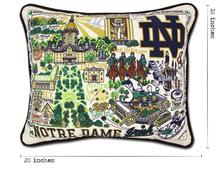University of Notre Dame, Catstudio Collegiate Embroidered Pillow