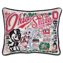 Load image into Gallery viewer, Ohio State University, Catstudio Collegiate Embroidered Pillow