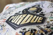 Purdue University, Catstudio Collegiate Embroidered Pillow