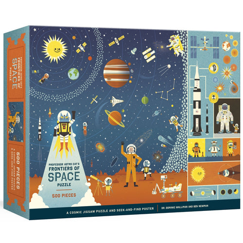 Professor Astro Cat's Frontiers of Space 500-Piece Puzzle