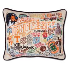 Load image into Gallery viewer, University of Tennessee, Catstudio Collegiate Embroidered Pillow