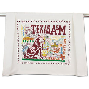 Texas A&M Dish Towel