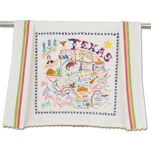 State of Texas Dish Towel