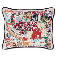 Load image into Gallery viewer, Texas Tech University, Catstudio Collegiate Embroidered Pillow