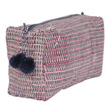Load image into Gallery viewer, Block Printed Toiletry Bag Collection