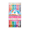 Unicorn Erasable Color Pencils