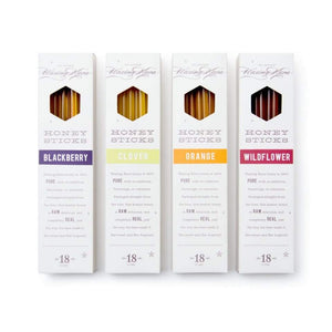 Gourmet Raw Honey Sticks