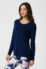 Load image into Gallery viewer, Onzie Braid Back Long Sleeve Top