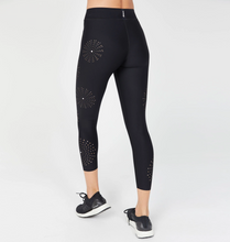 Load image into Gallery viewer, Sea Urchin Pixelation Legging With Swarovski® Crystals
