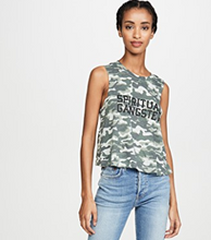 Load image into Gallery viewer, Crop Tank - Camo Print