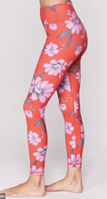Load image into Gallery viewer, Crimson Floral HW Legging