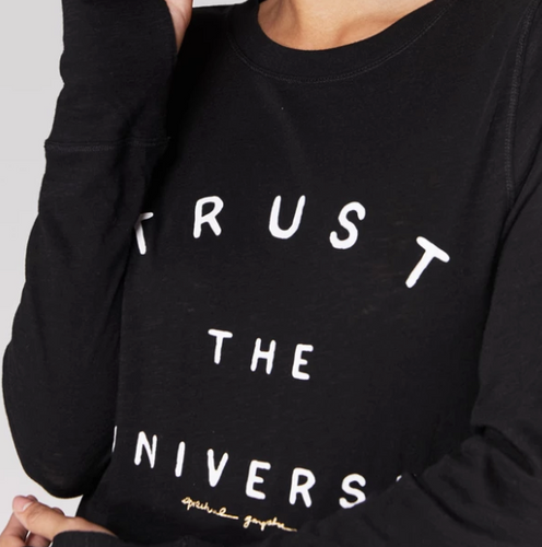 Trust Active Long Sleeve Black