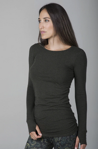 Side Ruched Yoga Top