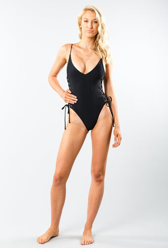 Rusty Cruising Lace Up One Piece
