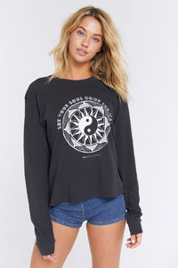 Spiritual Gangster Soul Brooke Long sleeve Crew