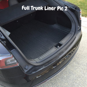 Custom Model S All-weather Mats Set (BLACK)