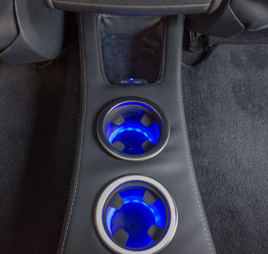 Easy Install Tesla Model S Rear Cup Holder/Console (Over 2500 sold)