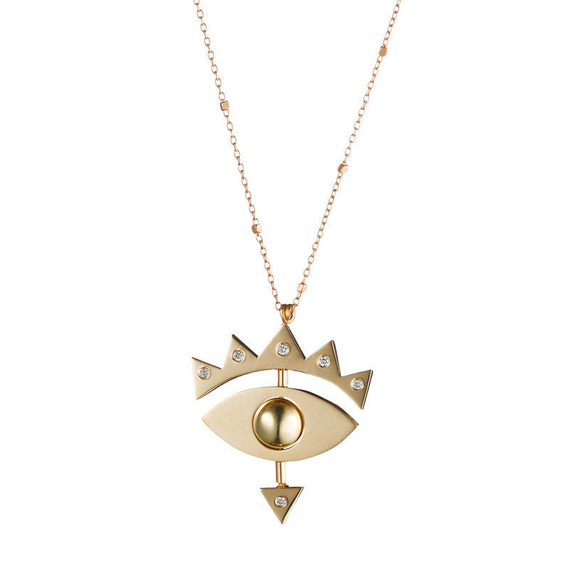 SMALL EYE GOLD / SMALL EYE GOLD WITH DIAMONDS