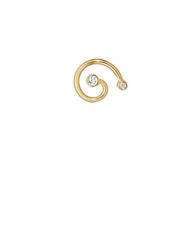 MINI SPIRAL WITH DIAMONDS