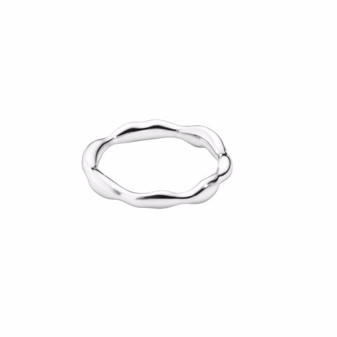 THICK LIQUID · RING · SILVER