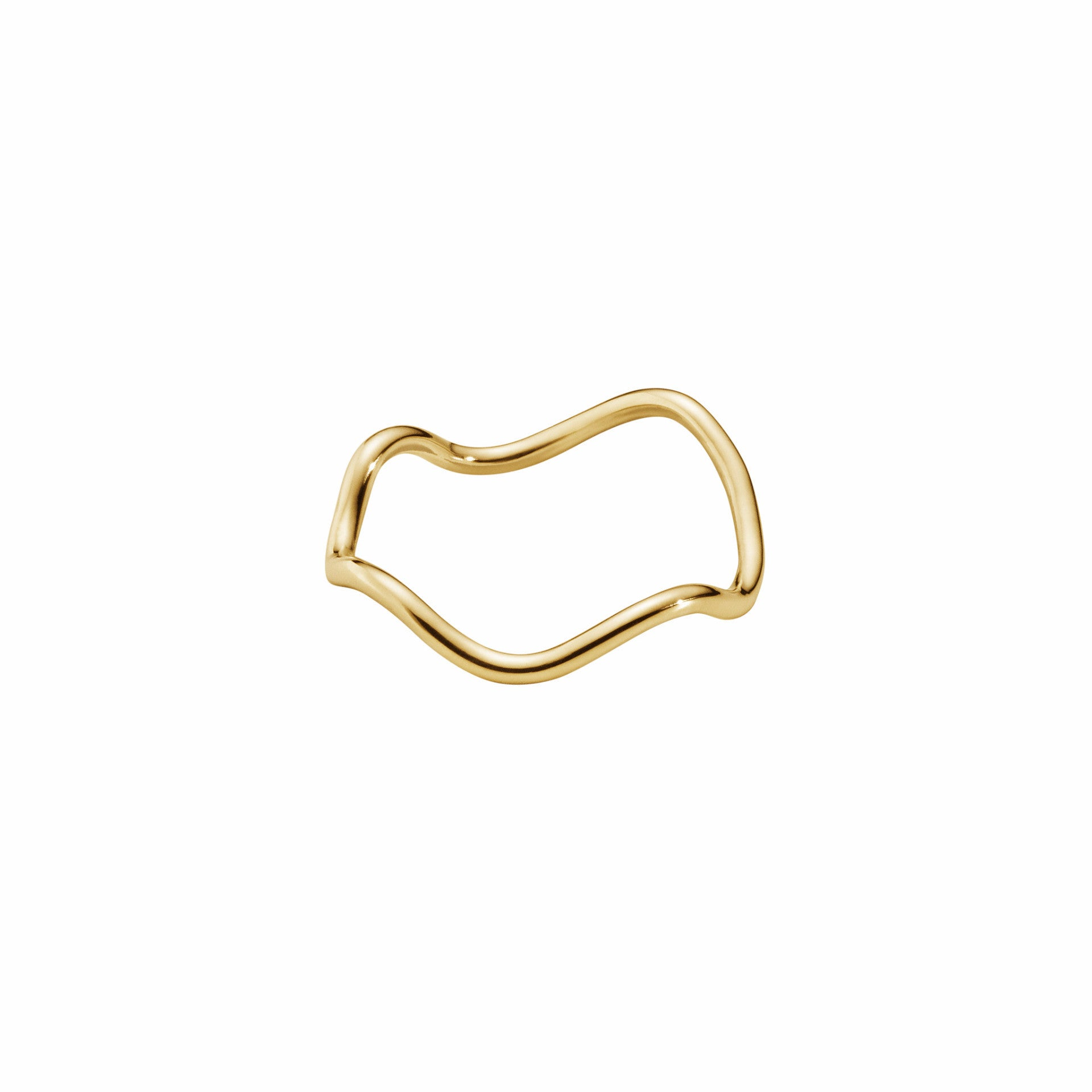 THIN WAVE · RING · 18KT. GOLD
