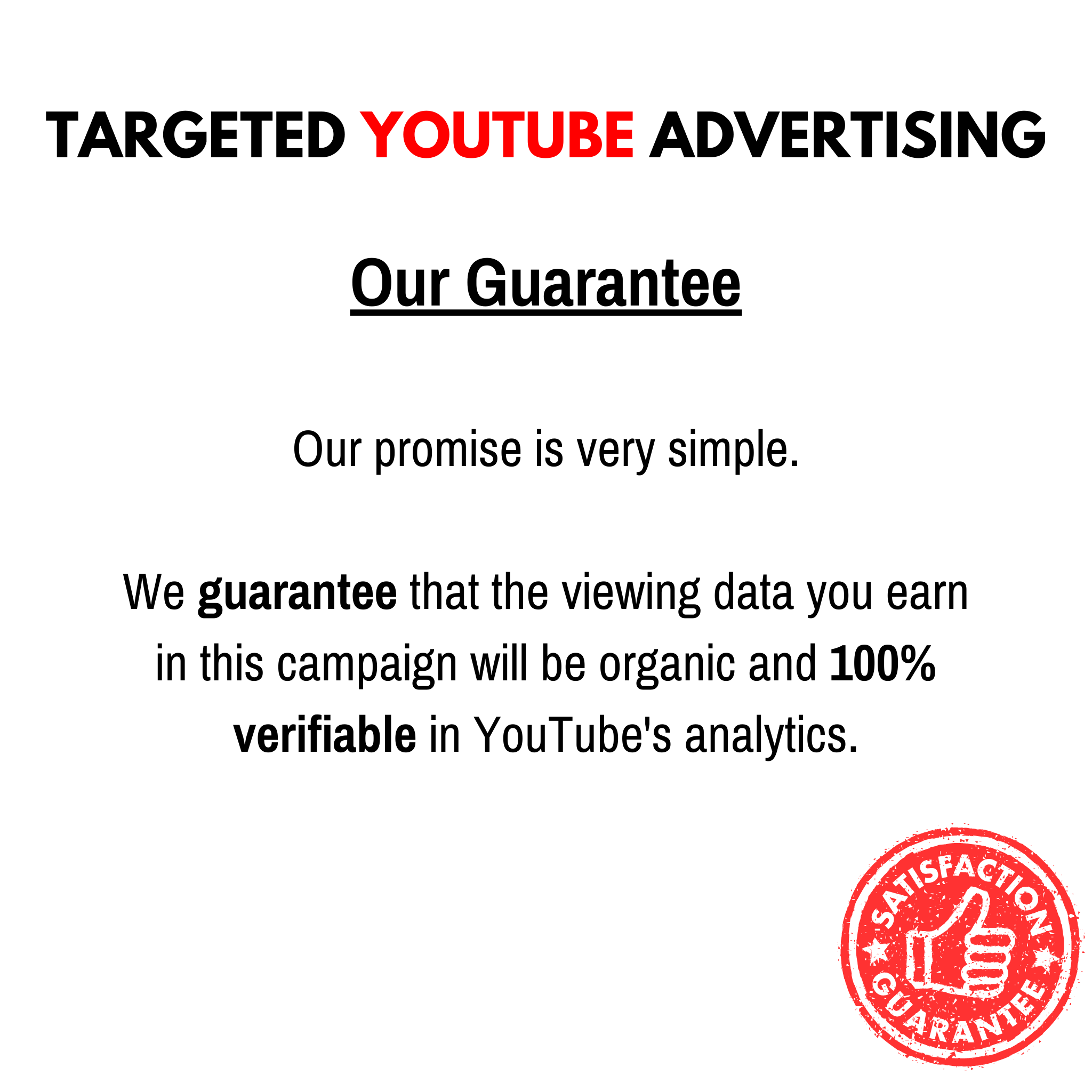 Targeted Youtube Advertising - Trial