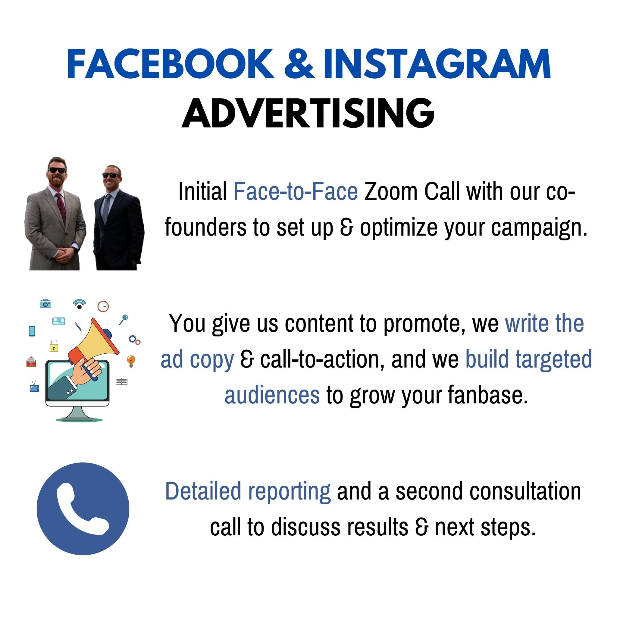 Facebook & Instagram Advertising +