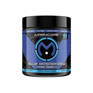 Magnicore Blue Raspberry Tub - 40 Servings