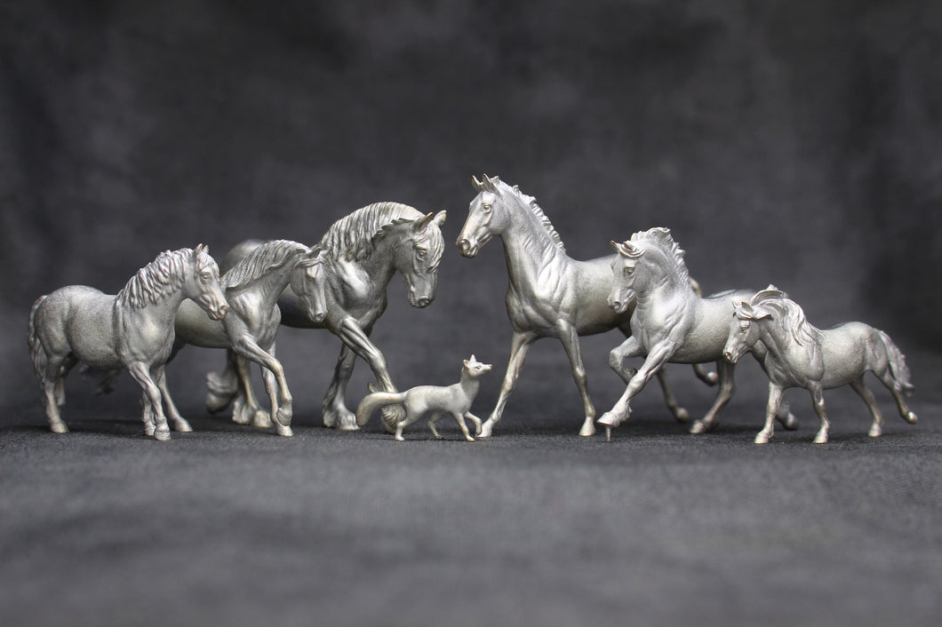 Pewter Micro Mini Set of 7 Copperfox Models Limited to 200 Total Worldwide 24 left in stock!