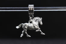 Load image into Gallery viewer, Welsh Cob Bracelet Charm Pewter