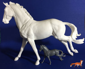 Irish Sports Horse Traditional Artist Resin-4 Left in Stock