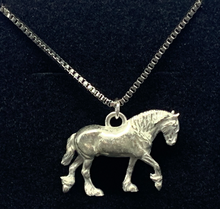 Load image into Gallery viewer, Shire Pewter Pendant Necklace