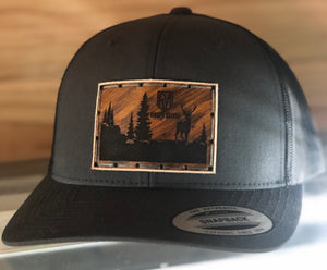 Trucker Snap Back Charcoal Grey