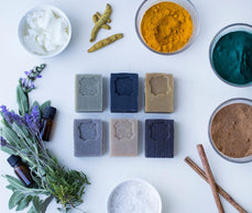 Creating healing soap from Natural Herbs of the Holy Land