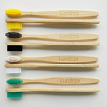 Load image into Gallery viewer, Bamboo Toothbrush Eight Pack | Luminta