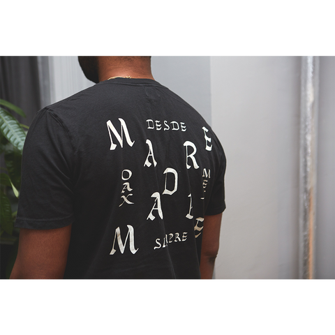 Madre 'Zag' T-Shirt (Black)