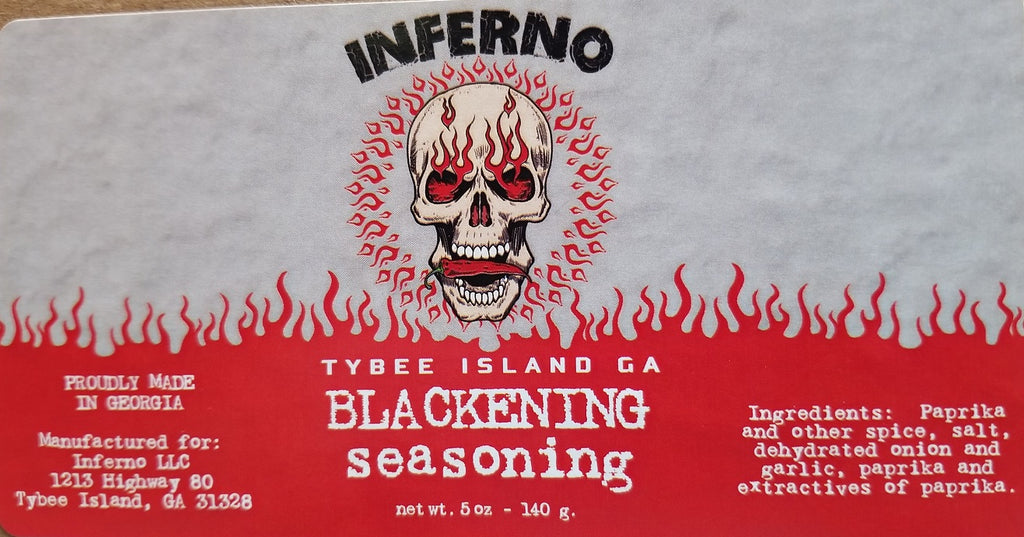 Inferno Blackening Seasoning