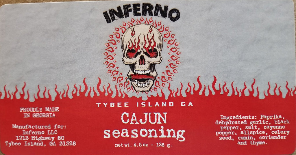 Inferno Cajun Seasoning