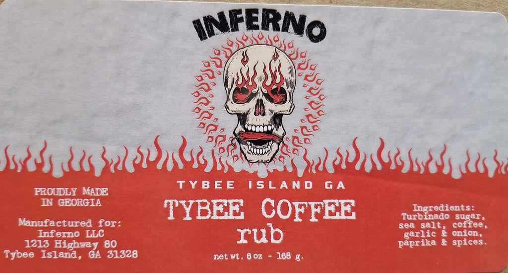 Inferno Coffee Rub