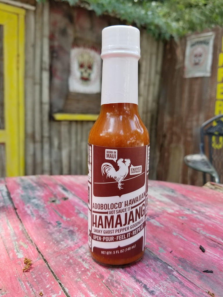 Adoboloco Hawaiian Hot Sauce Co. Hamajang Smoky Ghost Pepper Sauce