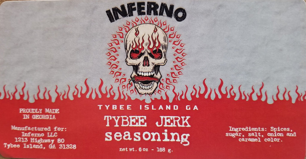 Inferno Tybee Jerk Seasoning