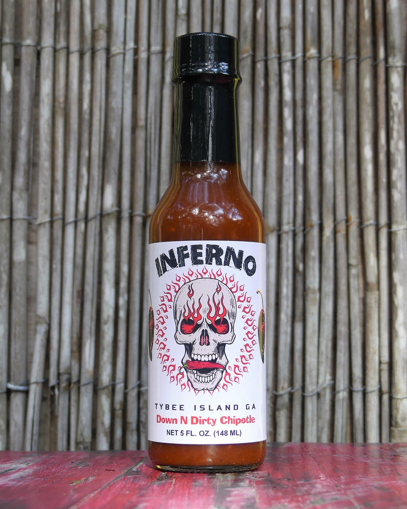 Inferno Down N Dirty Chipotle Hot Sauce