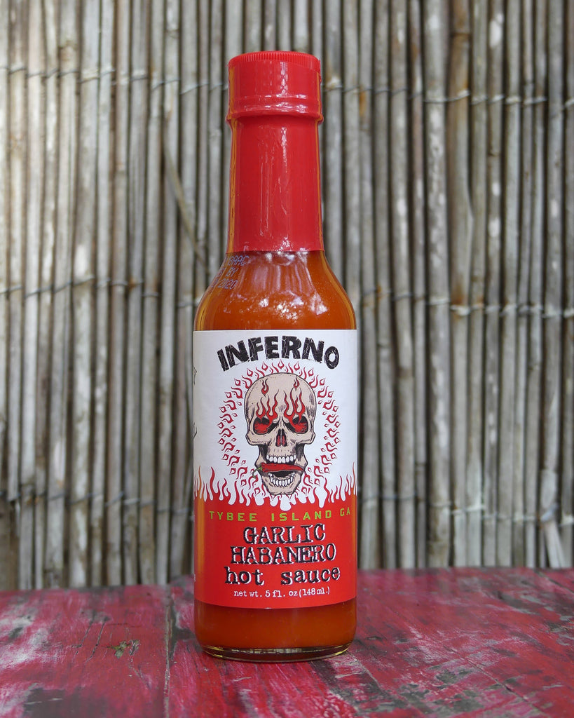 Inferno Garlic Habanero Hot Sauce