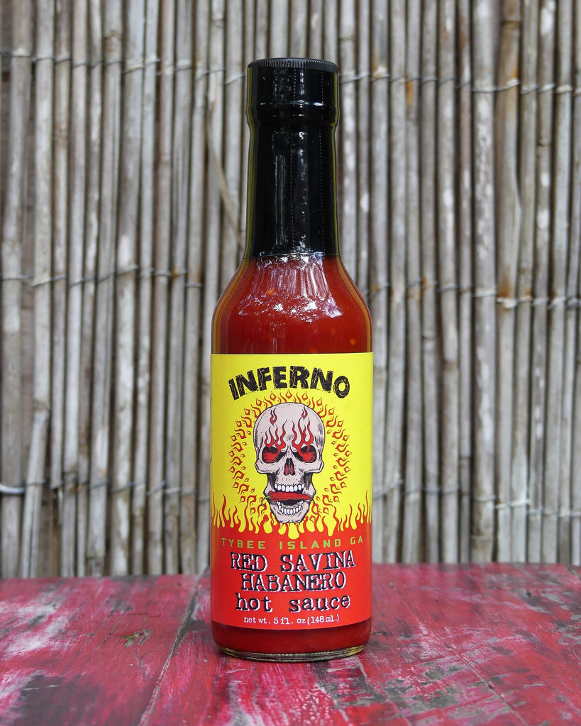 Inferno Red Savina Habanero Hot Sauce