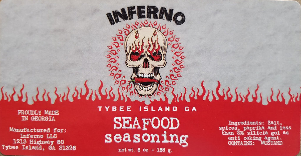Inferno Seafood Seasoning