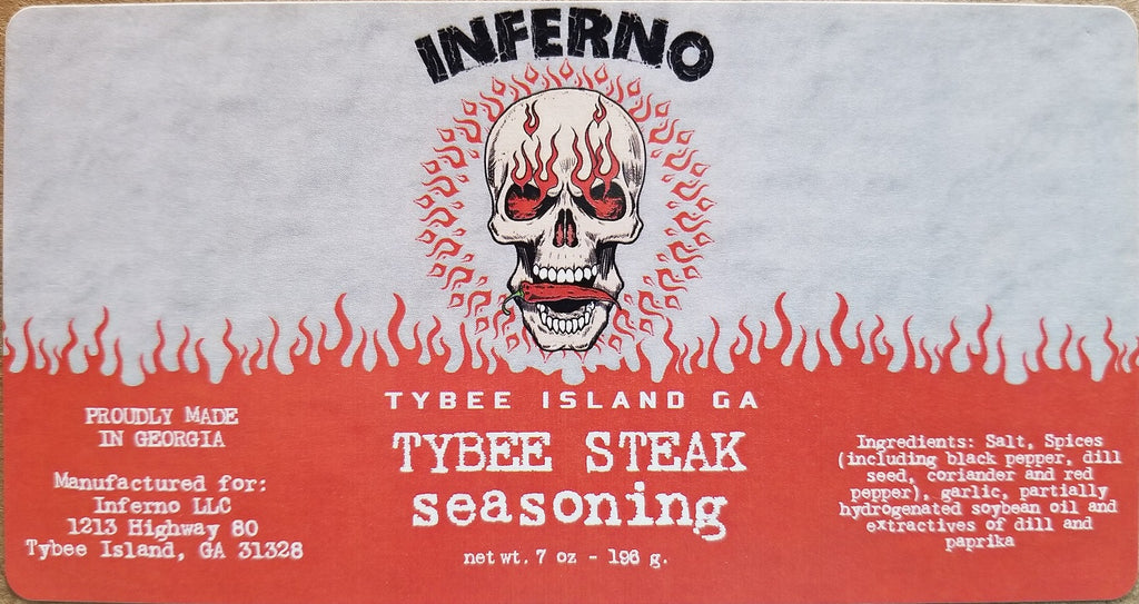 Inferno Tybee Steak Seasoning