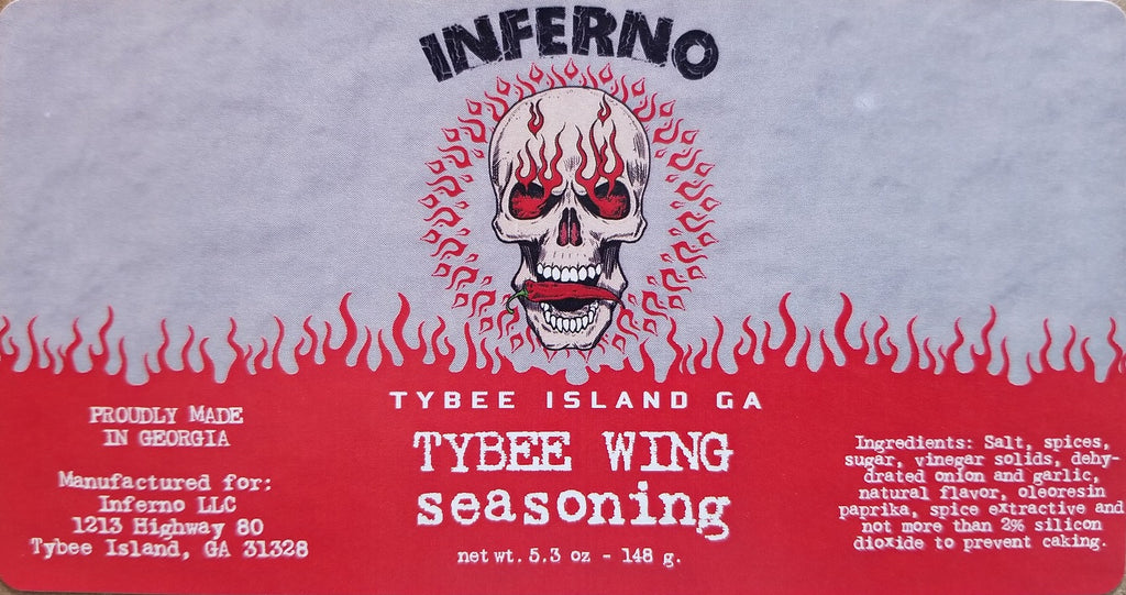 Inferno Tybee Wing Seasoning