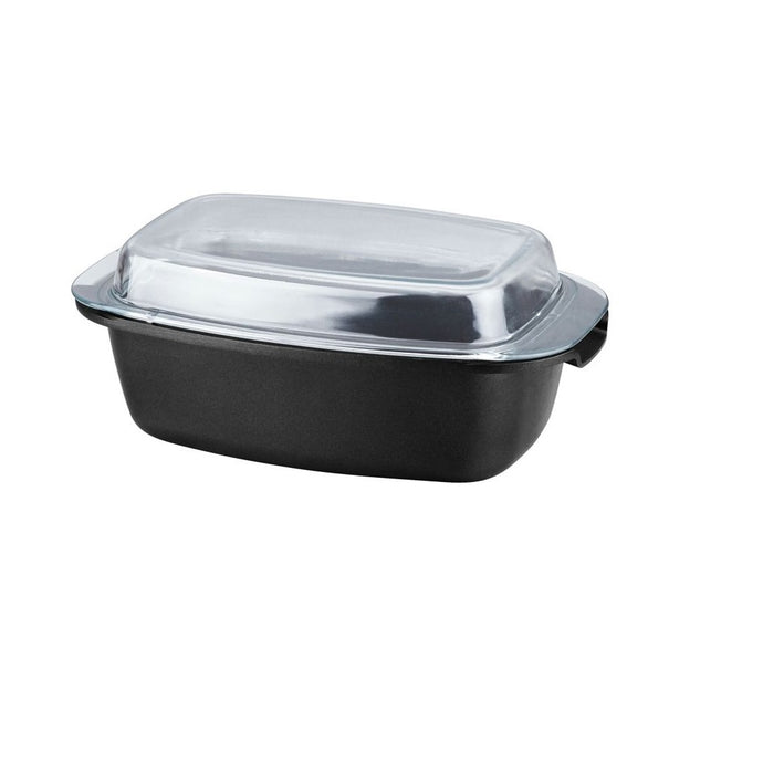 Herenthal 32cm Marble Coating Roaster Pot - Silver